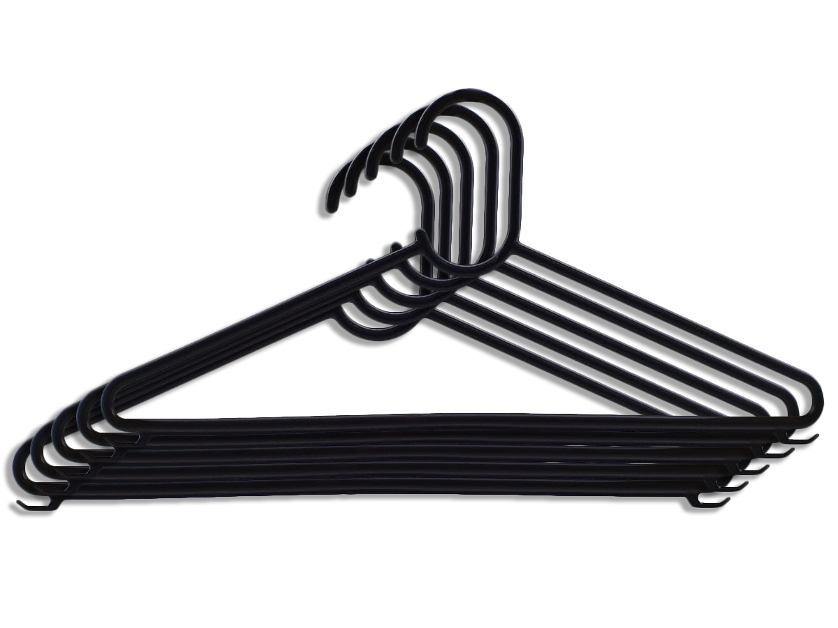 50 Cabides de Plástico Adulto Atacado Reforçado Com Cavas Resistente Para Roupas Pesadas