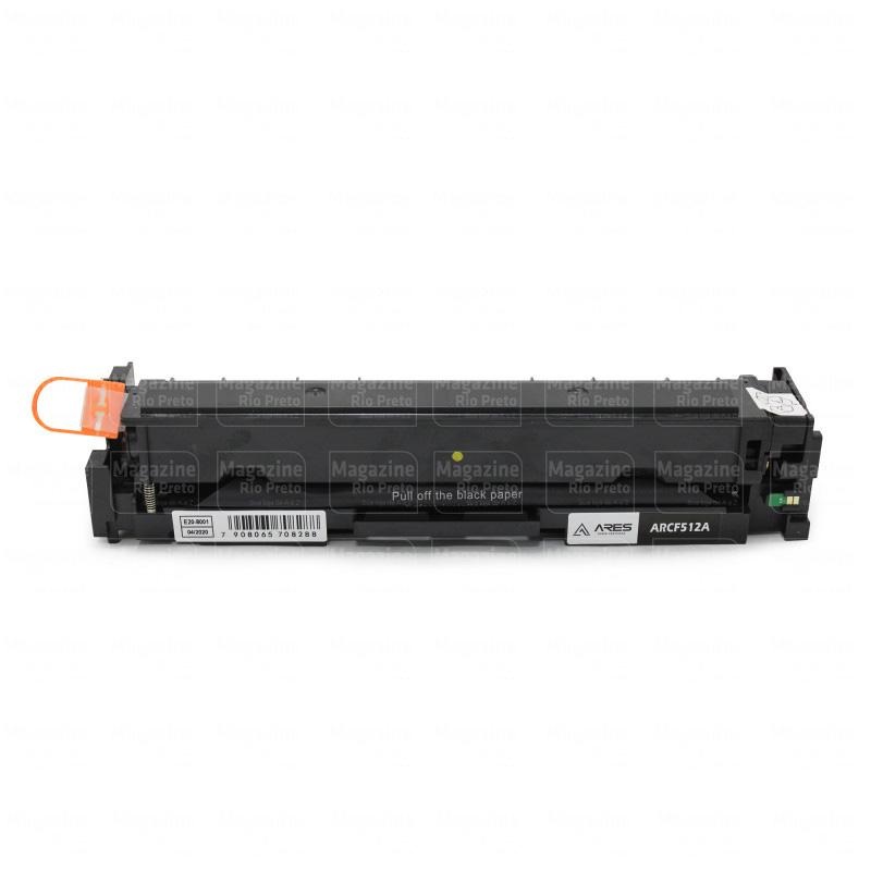 Toner Compatível Com Hp 204A 205A Cf512A Cf532A Yellow   M154 M180 M181 154A 154Nw 180N 180Nw 181Fw