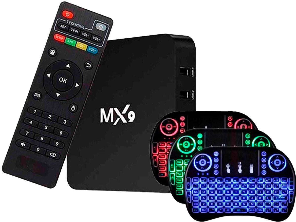 Box Android 8.1 Smartv  - Tv 4K  - 16gb e 3gb Ram + Controle