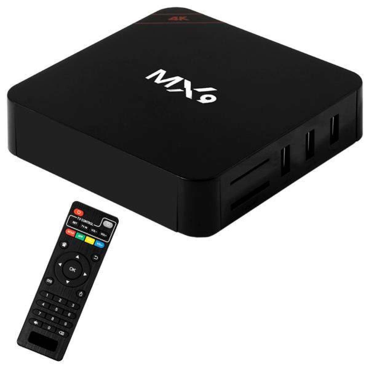 Box Android 9.1 Smartv  - Tv 4K  - 16gb e 3gb Ram + Controle