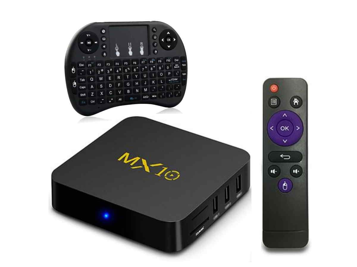 Box Android 9 Smartv  - Tv 4K  - 32gb e 4gb Ram + Controle