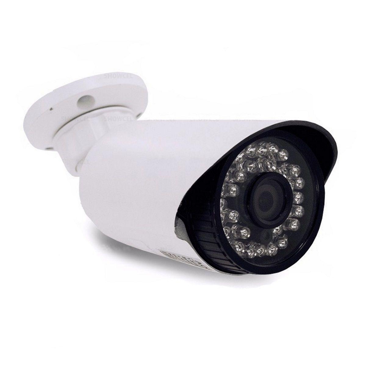 Câmera para CFTV Bullet Ahd 720p Infravermelho Lente 3,6mm