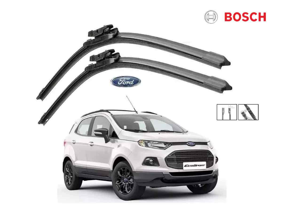 Jogo Palheta Dianteira Bosch Ford Ecosport 2013 a 2017