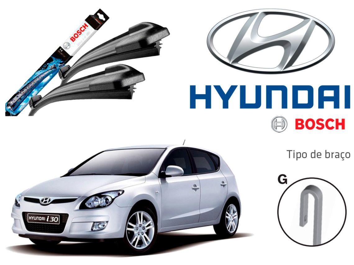 Jogo Palheta Dianteira Bosch Hyundai-i30 2010 a 2013