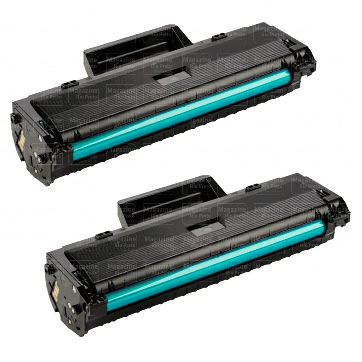 Kit 2 Toner Compatível W1105 105A | M107A M107W M135A M135W Sem Chip