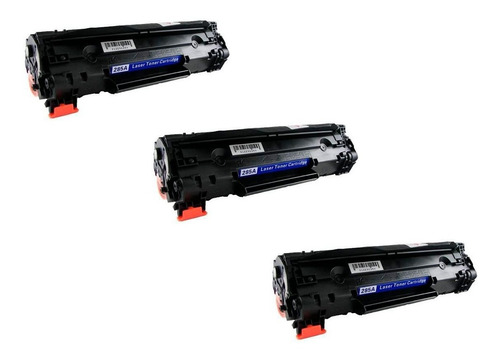 KIT 3 Toner Compatível CE285A CB435A CB436A UNIVERSAL 85A | P1005 P1505 M1120 M1212 M1130 P1102w 1102w 1102