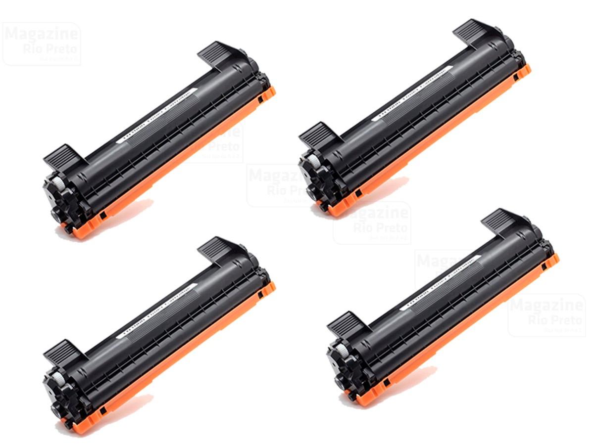 Kit 4 Toner Compatível TN1060 1060 | DCP1602 DCP1512 DCP1617NW HL1112 HL1202 HL1212W
