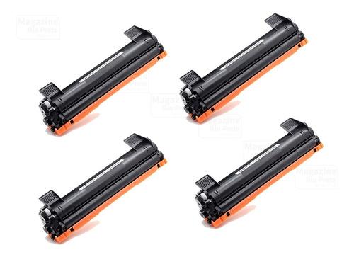 Kit 4 Toner Compatível TN1060 1060   DCP1602 DCP1512 DCP1617NW HL1112 HL1202 HL1212W