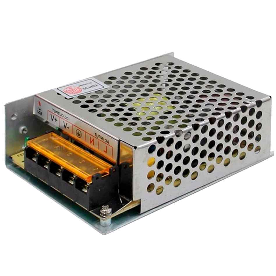 Kit Cftv 1 Câmera Convencional com Dvr 4ch 5x1 Full Hd + Hd500gb 100m Cabo Coaxial e Fonte Colmeia 5A