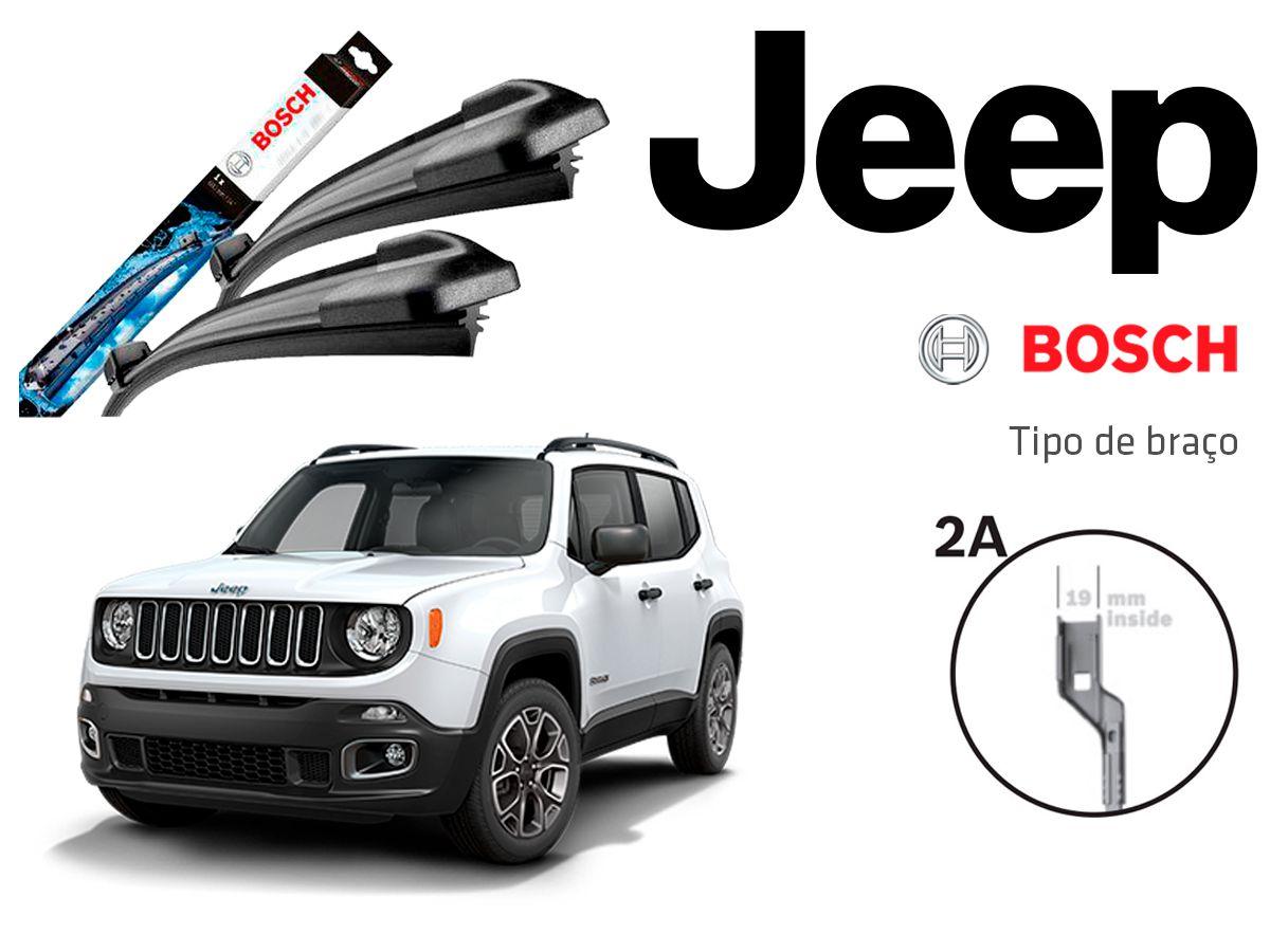 Limpador Para Brisa Bosch Jeep Renegade 2015 A 2019