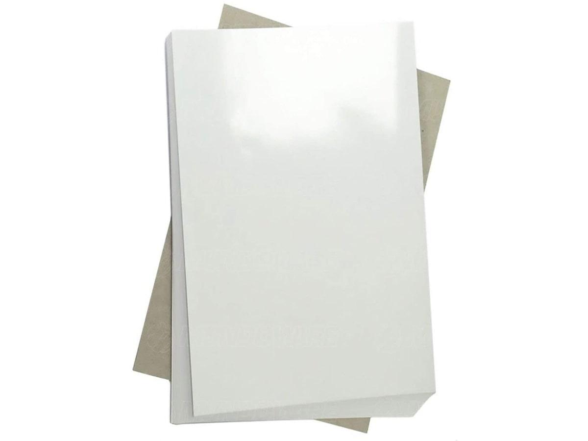 Papel Fotográfico A4 135G Glossy Branco Brilhante Resistente À Água / 50 Folhas