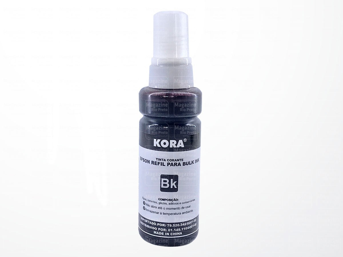 Refil Tinta Master Print Compatível com Epson L355 L3110 L3150 Ideal para Ecotank e Bulk ink - Kit com 4 cores