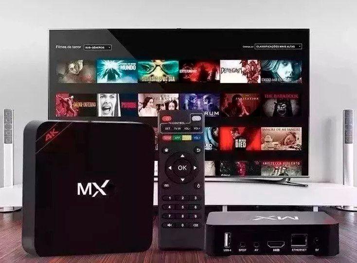 Smartv Tv Box 16gb E 2gb Ram Android -4k + Controle