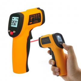 Termômetro Infravermelho Laser Display Iluminado Celsius e Fahrenheit -50ºC~420ºC (-58ºF~788ºF)