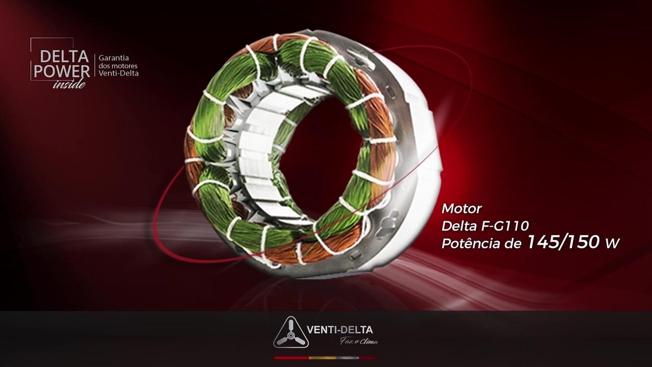 Ventilador de Parede Oscilante Ventidelta Ventura 50cm 6 pás