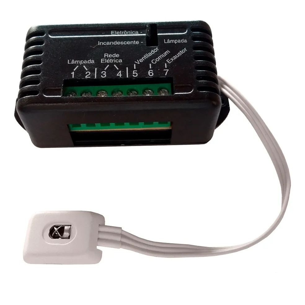 Ventilador de Teto 3 Pás Arge Branco Com Controle Protection Branco 110/127v