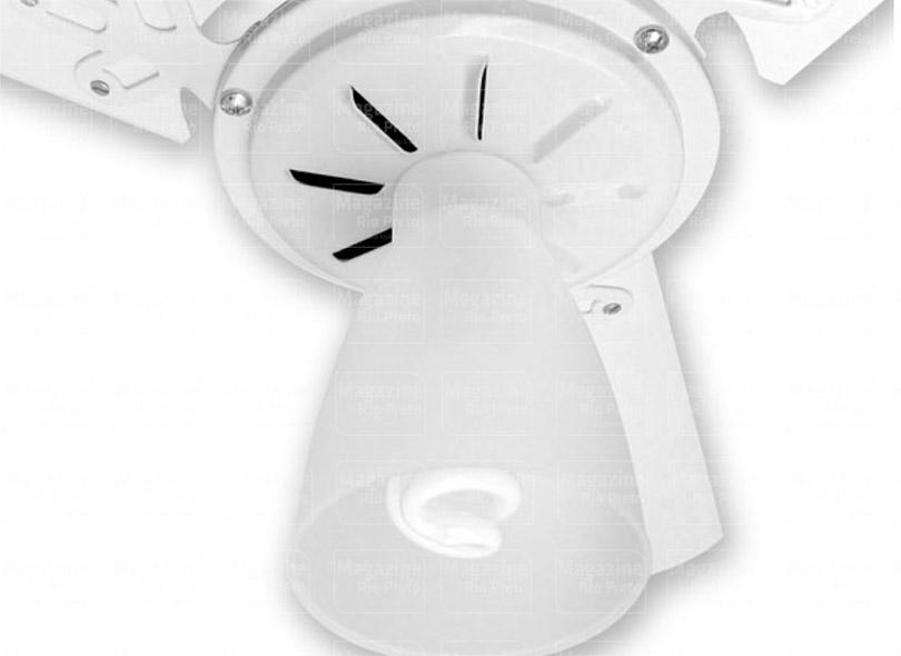 Ventilador de Teto 3 Pás Arge Branco Com Controle Trio 110/127v