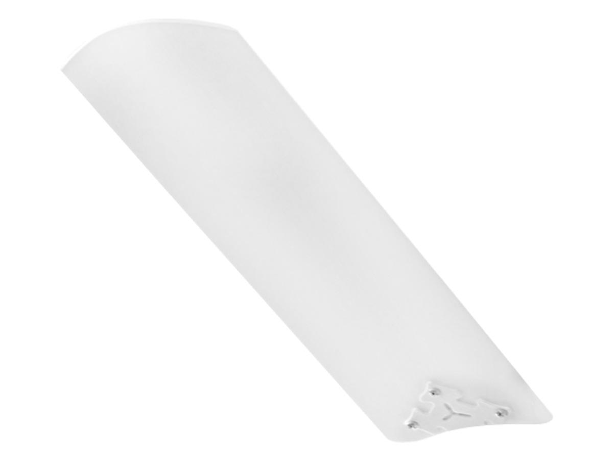 Ventilador de Teto Ventidelta 3 Pás Branco New Delta Light Corpo Branco 110/127V Com Controle Remoto