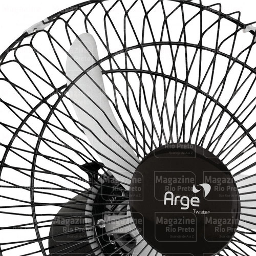 Ventilador Oscilante de Parede Arge 50cm Bivolt 140W
