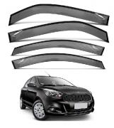 Calha de Chuva Defletor Ford Ka 2014 a 2020 e PCD 4 Portas Tg Poli Fumê com Proteção UV 21021