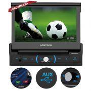 """DVD Automotivo Pósitron SP6730 7"""" Espelhamento e Bluetooth"""