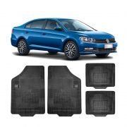Kit Tapete Borracha Borcol Etios Hatch + Porta Malas