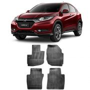 Kit Tapete Borracha Borcol HR-V + Porta Malas