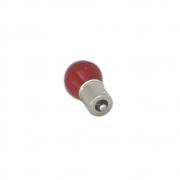 Lâmpada Led Bulb BAY15D 12V - Vermelho