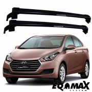 Rack Eqmax New Wave HB20 Sedan 2015 a 2016 Preto