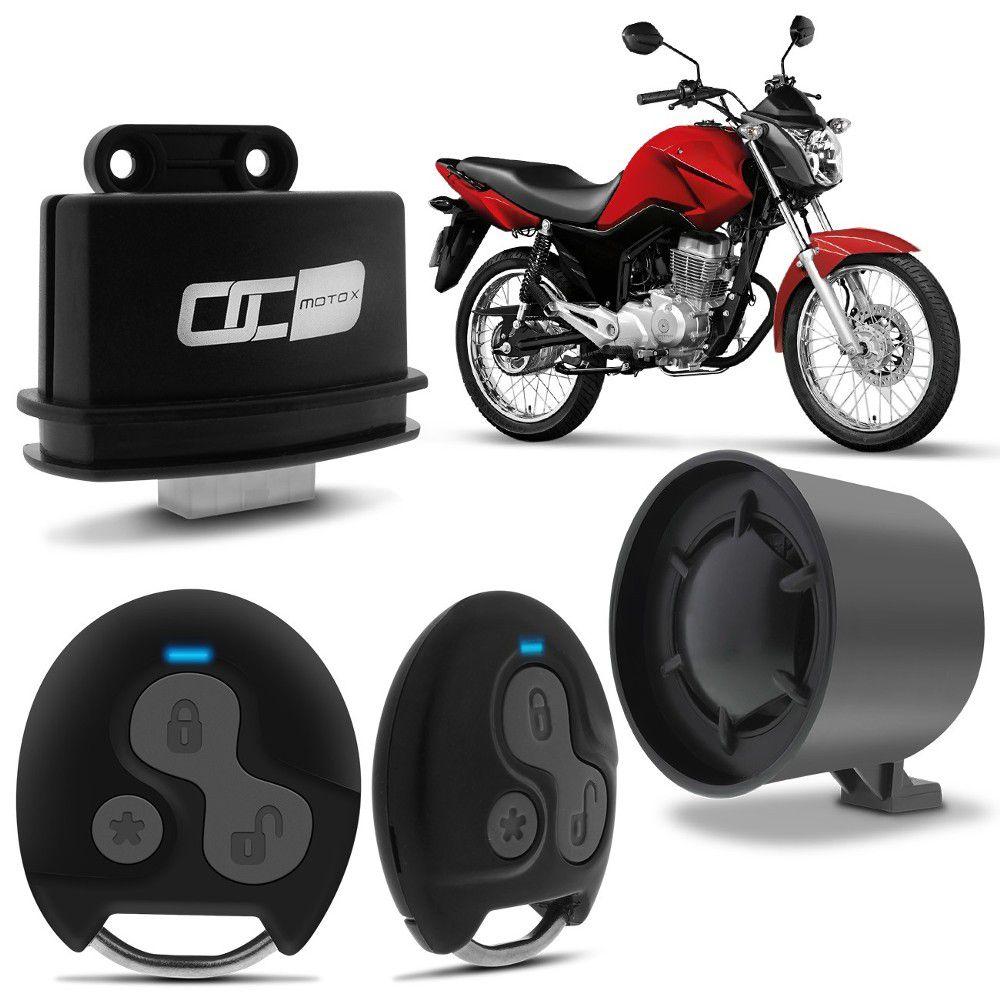 Alarme Olimpus Moto X Padlock 2 Controles