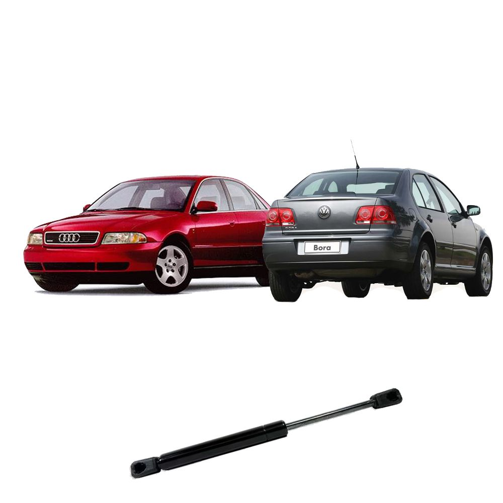 Amortecedor de Porta Mala Bora e Audi A4 A Partir 1998