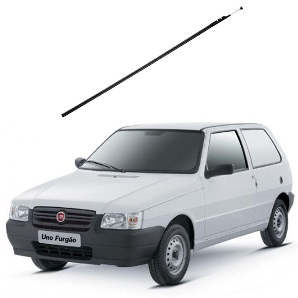 Antena de Coluna Cromada Olimpus - Fiat