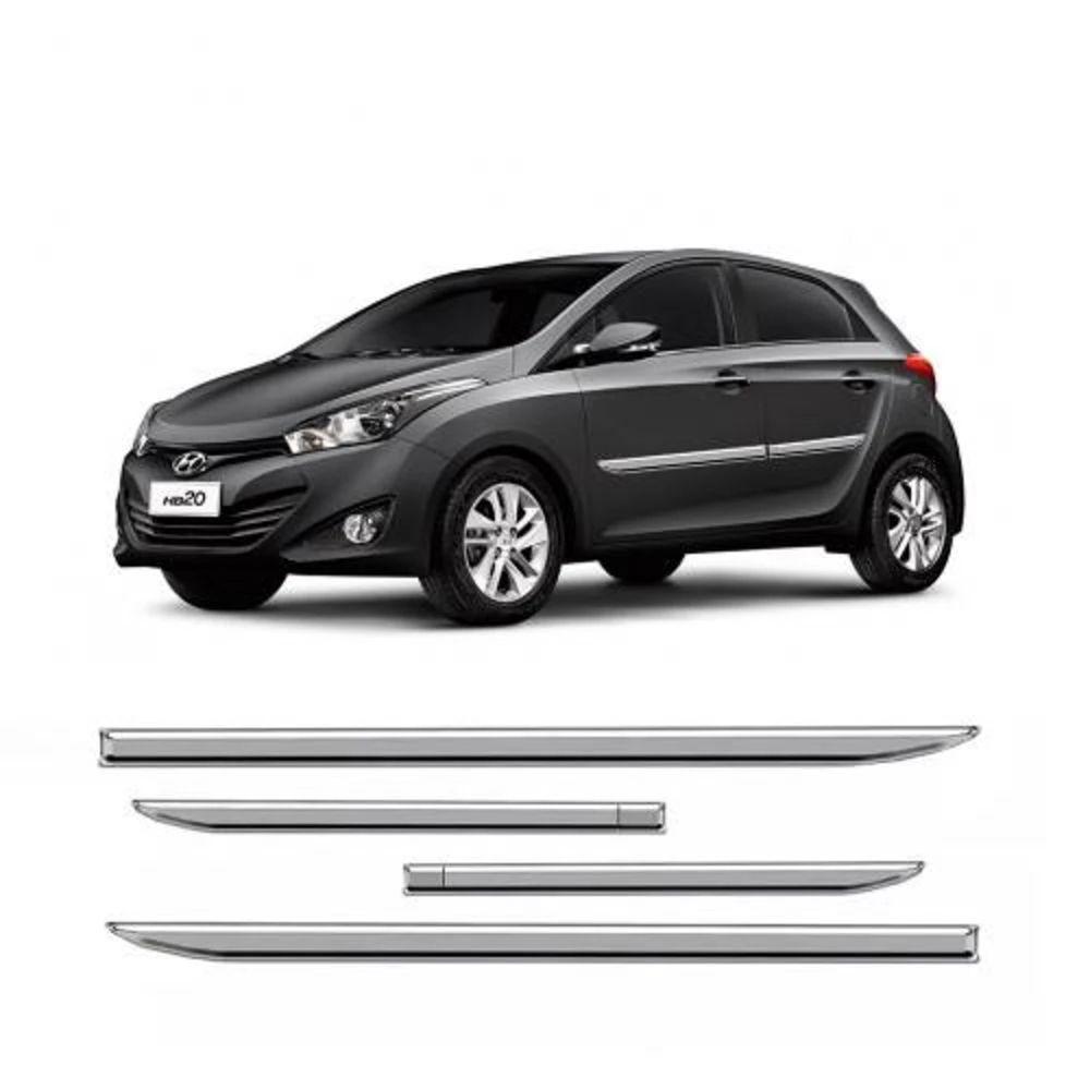 Friso Hyundai HB20 Cromado Slim