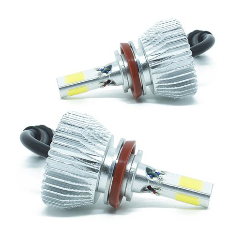 Kit Lâmpada Super LED 3D Headlight H4 40W 6000K 3700LM