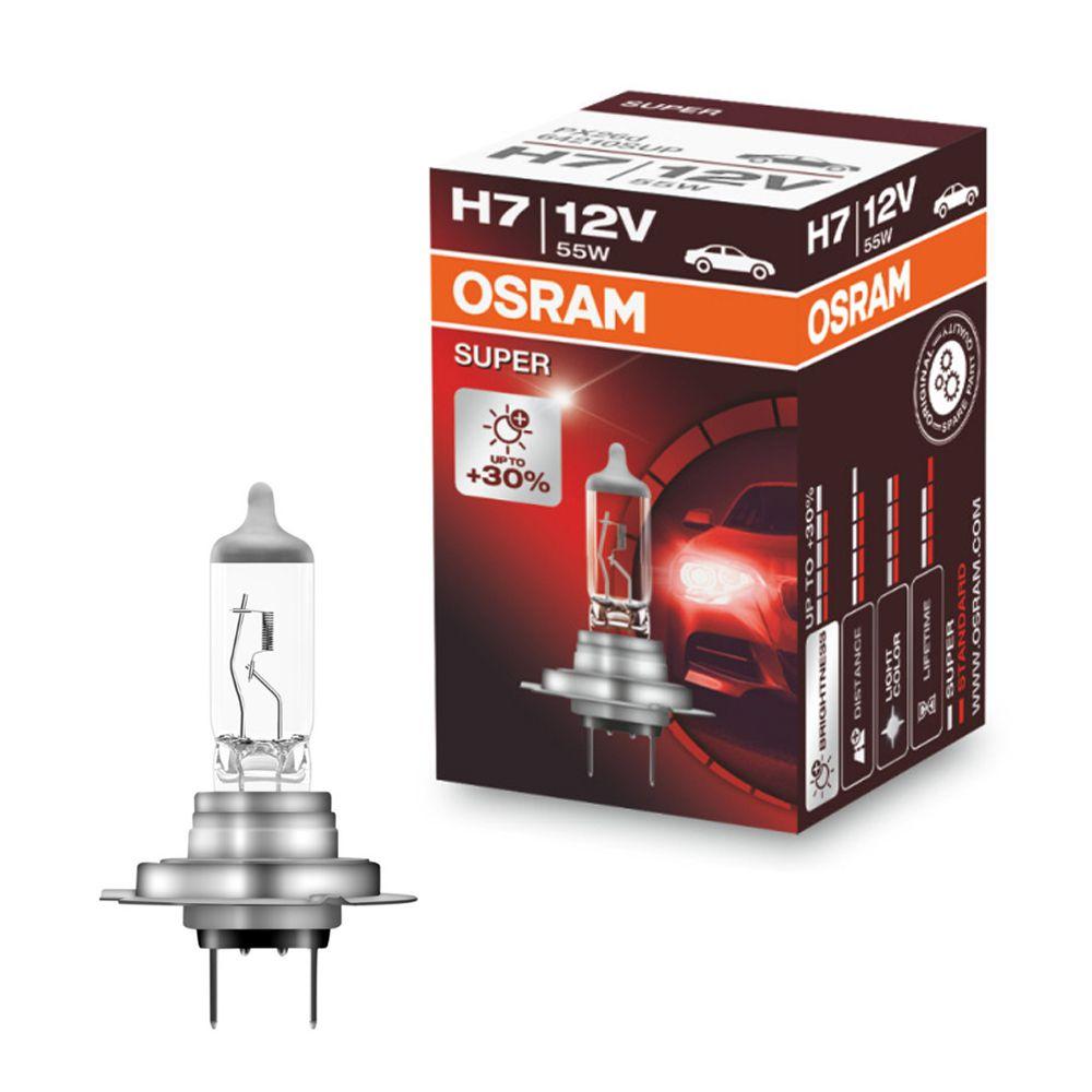 Lâmpada Osram H7 12V 55W Super STD
