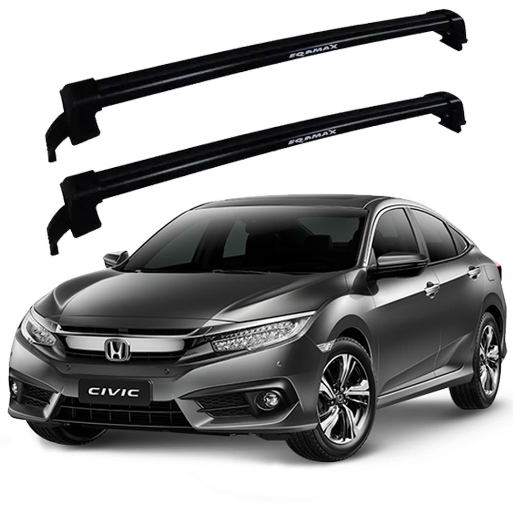 Rack Eqmax New Wave Civic A Partir 2017 - Preto
