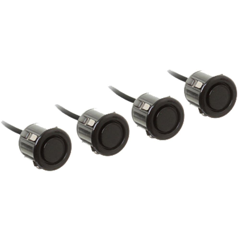 Sensor de Ré 18.5mm 8 Pontos Preto com Display de Led