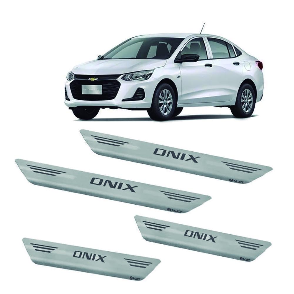Soleira Onix Plus 2020 - Inox Escovado