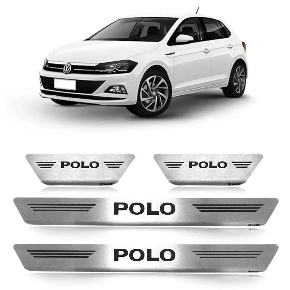 Soleira Polo Hatch 2018 a 2020 - Inox Escovado