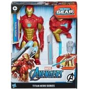 Avengers Iron Man Blast Gear Titan Hero- Hasbro