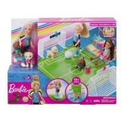 Barbie Dreamhouse - Chelsea Futebol com Cachorrinho - Mattel