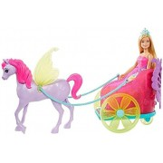 Barbie Dreamtopia Princesa Com Carruagem Mattel