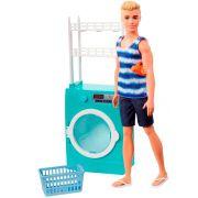 Barbie Ken Lavanderia Mattel - FYK51