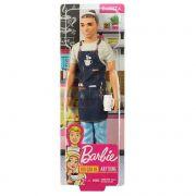 Barbie Ken Profissões Barista fxp03 Mattel