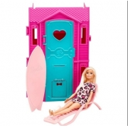 Barbie Studio De Surf com Boneca 8582-5 Fun