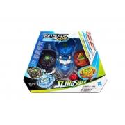 Beyblade Slingshock Burst Turbo Kit Elemento X Hasbro