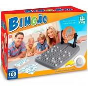 Bingo Bingão Jogo C/ 100 Cartelas E Globo Giratório - Nig