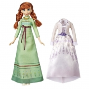 Boneca Articulada Anna Frozen 2 Troca De Roupa Hasbro