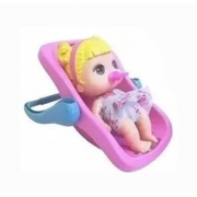 Boneca Baby Collection Mini Com Bebe Conforto Lançamento 340