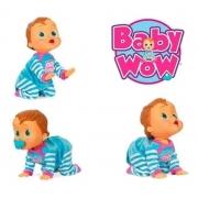 Boneca Baby Wow Multikids Engatinha Br582